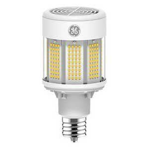 22635-LED Lamp, HID Type B Replacement, Mogul Screw (EX39) Base, Cylindrical Bulb, 120/277V, 80W, 4000K