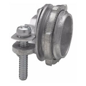 Clamp-Type Connector, Zinc Die Cast, Non-Metallic Sheathed Cable, 1 in.