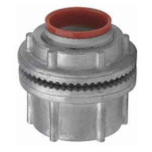 Myers™ Scru-Tite® Watertight Hub, Zinc Die Cast, Rigid/IMC Conduit, Insulated Throat, 3-1/2 in.