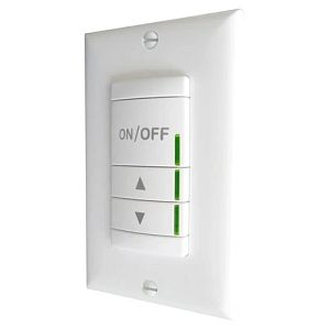 SwitchPod Dimmer, Pushbutton, 120/277V, 1200W, White
