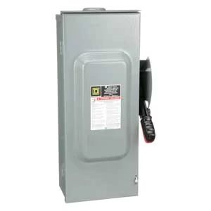 Single Throw Fusible 100A 600VAC/DC 3P3W Heavy Duty Disconnect