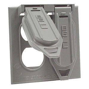 Aluminum Die Cast Device-Mount Weatherproof Cover