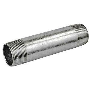 Conduit Nipple, Rigid/IMC, Galvanized Steel, 1-1/2 x 4 in.