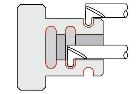 Quick Change - Grooving Tools - Full Radius - Miniature