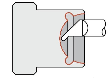 Quick Change - Grooving Tools - Undercutting - Full Radius