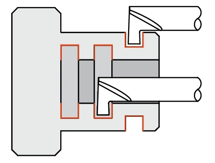 Quick Change - Grooving Tools - Retaining Ring - Miniature