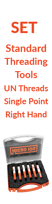 Sets - Standard - Threading Tools - UN Threads - Single Point - Right Hand