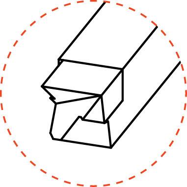 Brazed - Box Turning Tools - BT Style