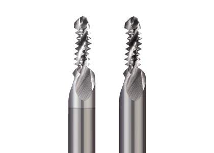 Combination Drill/Thread Mill