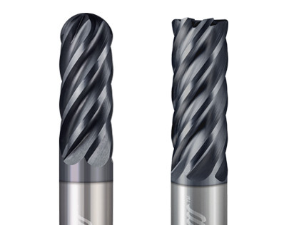 6 Flute End Mills for Steels