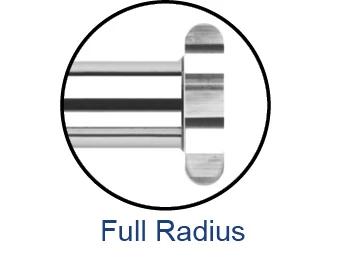 Keyseat Cutters - Full Radius