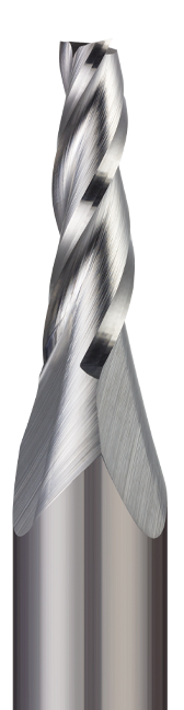 End Mills - Square - 3 Flute - Tapered End Mill