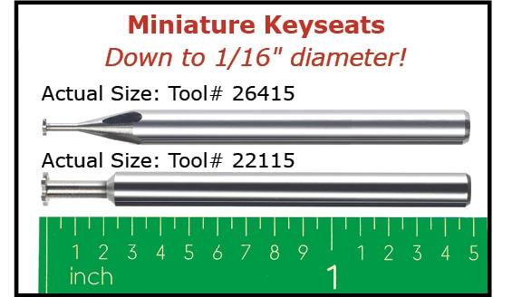 Keyseat Cutters - Square