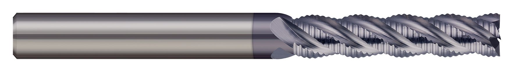 End Mills for Steels & High Temperature Alloys - Square - 4 Flute - Chipbreaker Rougher