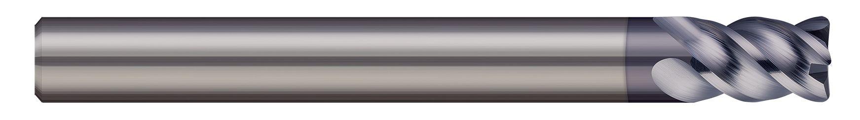 End Mills for Hardened Steels - Corner Radius - 4 Flute