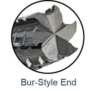 End Mills for Composites - Chipbreaker Cutter