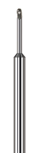 Variable Helix End Mills for Aluminum Alloys - Ball - Long Reach, Stub Flute