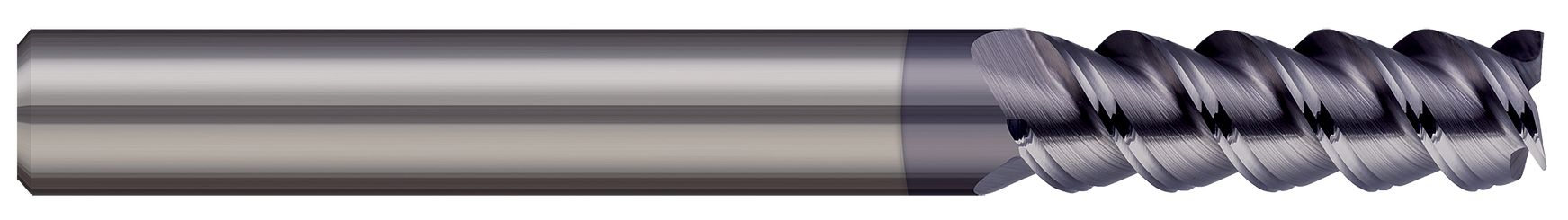 End Mills for Steels & High Temperature Alloys - Square - 3 & 4 Flute