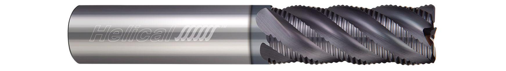 Multi-Flute, Corner Radius - Knuckle Rougher, Variable Pitch
