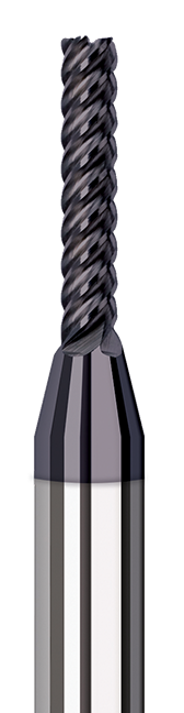 Variable Helix End Mills for Exotic Alloys - Finishers - Corner Radius