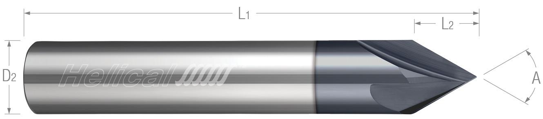 Straight Flute - 2 & 4 Flute