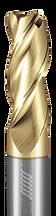 3 Flute, Corner Radius - 35° Helix, Metric