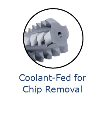 Thread Milling Cutters - Multi-Form - Coolant-Through - Metric