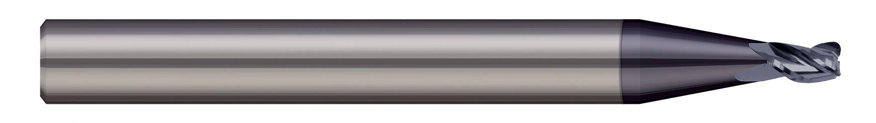 End Mills for Steels & High Temperature Alloys - Corner Radius - 2 & 3 Flute - Stub Flute