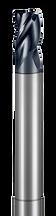 3 Flute, Corner Radius - Reduced Neck (Aplus)