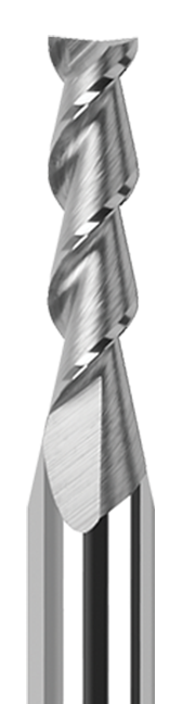 High Helix End Mills for Aluminum Alloys - 45° Helix - Square