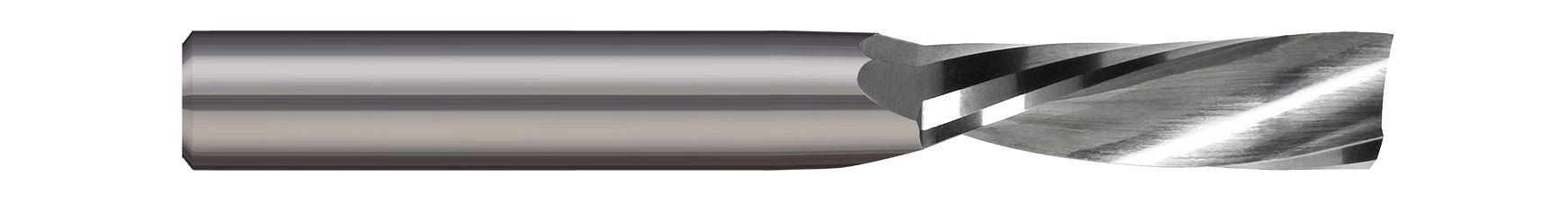 End Mills for Plastics & Composites - Single Flute - Router - Downcut