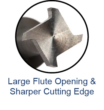 Keyseat Cutters - Square - For Non-Ferrous Materials