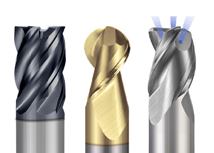 Reduced Neck End Mills