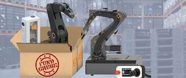 gebrauchtroboter für schulungszwecke