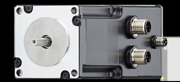 Schrittmotor mit metrischem Stecker, Encoder & Bremse