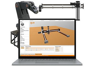 Ready-to-use robot control systems with software from igus