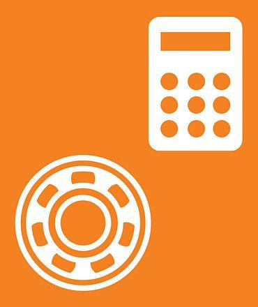 Logo ball bearing calculator