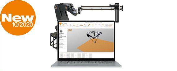 Robotersteuerung mit Software und Hardware von igus®