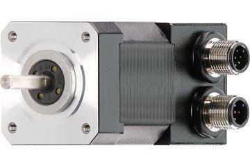drylin® E stepper motor with splash guard, NEMA 17