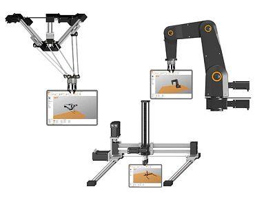 Sistema de controlo para robôs da igus