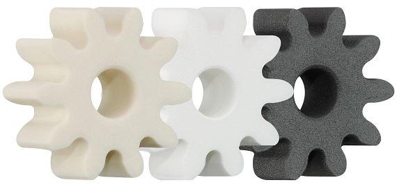 使用自由模板配置最少八個齒的齒輪