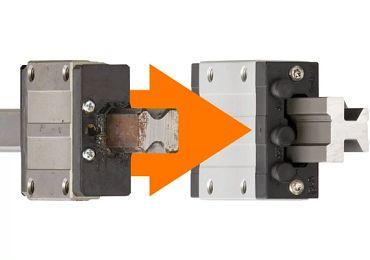Corrosion-free drylin® linear technology