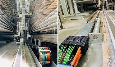 Module Connect und readychain in Maschinen zur Herstellung von Möbelstücken