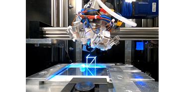 AMIS-FYT 3D Drucker im Weltall Linearantrieb SAW