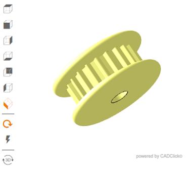 3D-Zahnriemenrad-online-konfigurieren