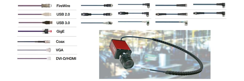 cables confeccionados para cámara
