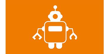Service robot icon