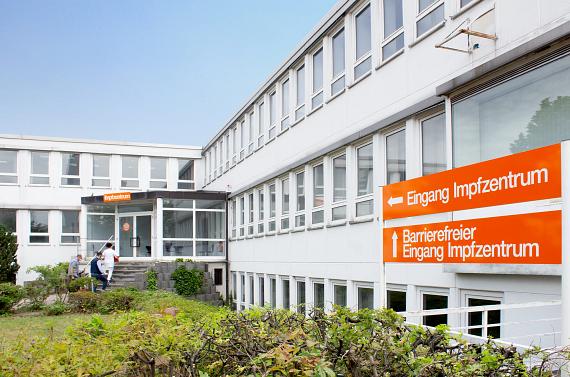 Vaccination centre igus Cologne
