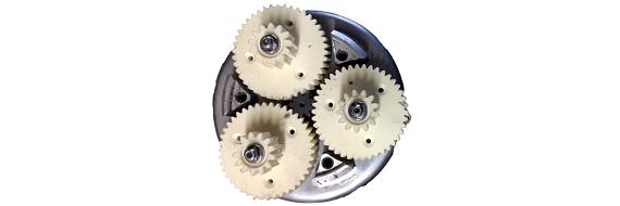 Ersatz-Zahnräder für ein Planetengetriebe eines E-Bikes