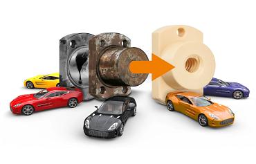 Gewindetriebe Automobilindustrie